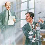 James Watson i Francis Crick - ojcowie DNA