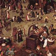 Walka między Karnawałem iWielkim Postem (Pieter Bruegl Starszy)