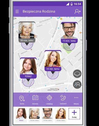 aplikacja bezpieczna rodzina
