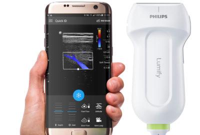 Głowica USG - aplikacja mobilna Lumify