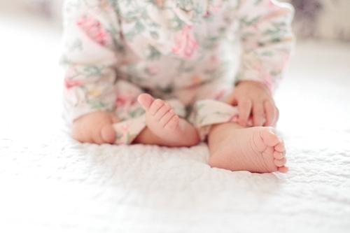 Stopy dziecka - pielęgnacja