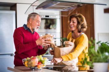 dziadek i babcia zdrowe odżywianie dieta seniora
